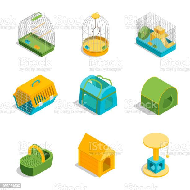 Pet carriers signs 3d icons set isometric view vector vector id959274530?b=1&k=6&m=959274530&s=612x612&h=coolmiy3foqe73i5jyvwezfsfgg5ol8qhfzcz9k zza=