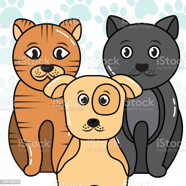 Pet cat and dog vector id948766976?b=1&k=6&m=948766976&s=612x612&h=16vhdueuhjy5p 5 mk7 s1c nlzs9wuyegwus3fdvso=