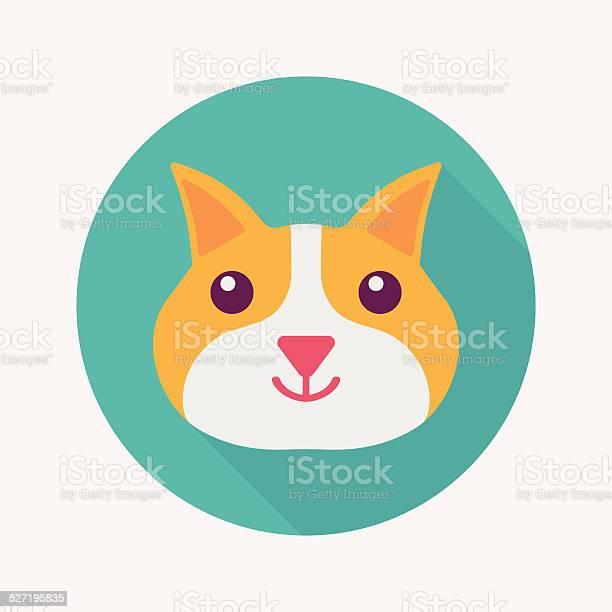 Pet cat flat icon with long shadoweps10 vector id527195835?b=1&k=6&m=527195835&s=612x612&h=ut6t4hsqov ty1 asqbhum7fy7bmfphupzww08vv5ci=