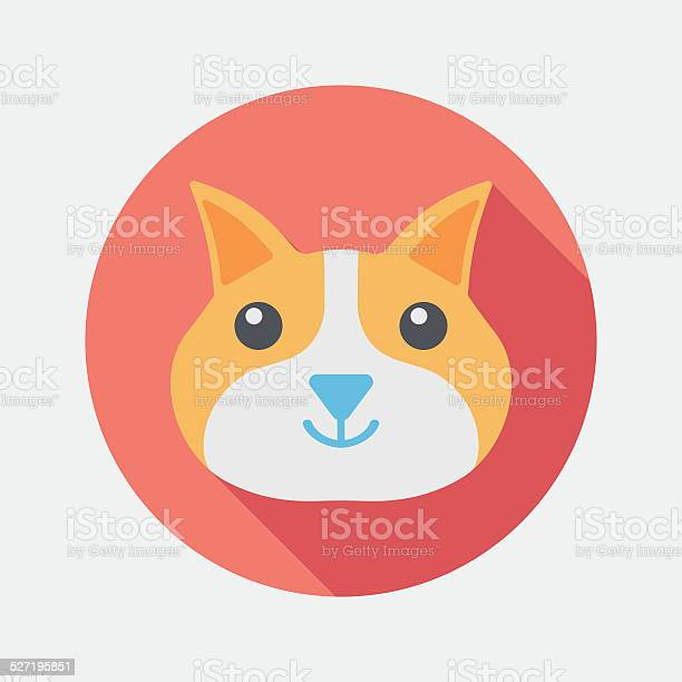 Pet cat flat icon with long shadoweps10 vector id527195851?b=1&k=6&m=527195851&s=612x612&h=g1gi3k7ijf2wyl83zkvol7iazc4yjdqovii poanokk=