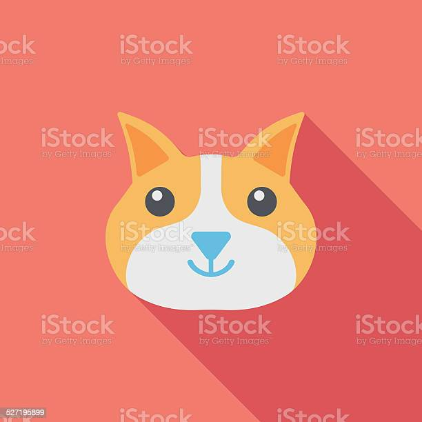 Pet cat flat icon with long shadoweps10 vector id527195899?b=1&k=6&m=527195899&s=612x612&h=jhtm7uei rwf5ow5datvss6hjc xhqc5g3apg9 n0do=