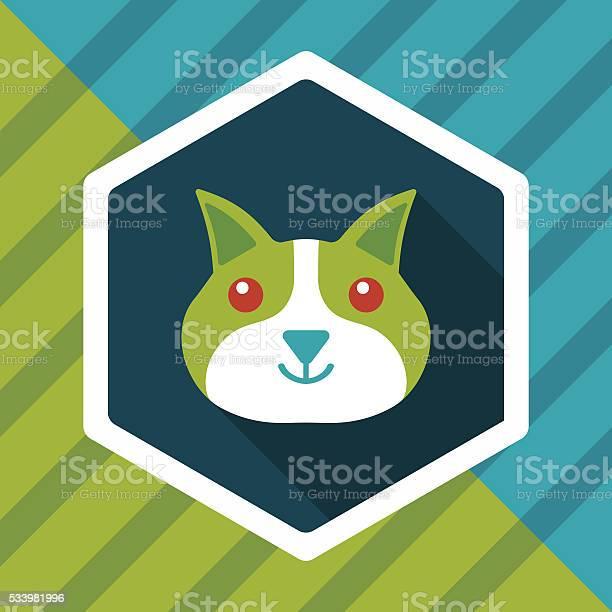 Pet cat flat icon with long shadoweps10 vector id533981996?b=1&k=6&m=533981996&s=612x612&h=arekqxjudnma9j2ertx6e6fsky7pdajjpszs1uweiwy=