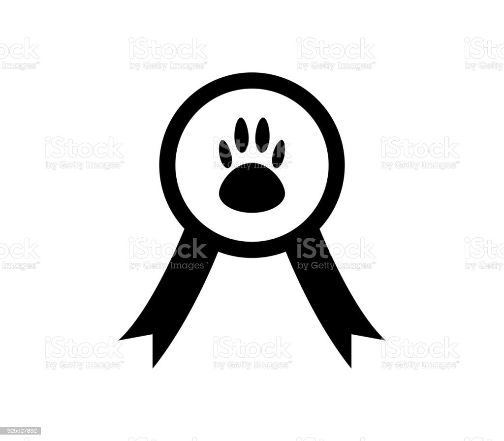 pet champion vector art illustration