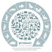 Animal hospital concept