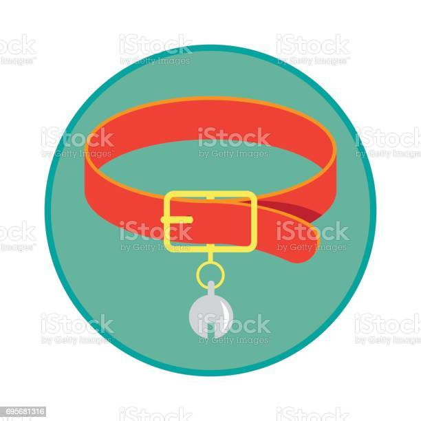 Pet collar chain pet toys accessories vector illustration vector id695681316?b=1&k=6&m=695681316&s=612x612&h=q36do4jvalhdq4e n zcc1x6kqxwxhn0ixzxvxwy9v4=