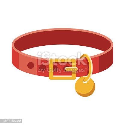 istock Pet Collar Icon 1327156988