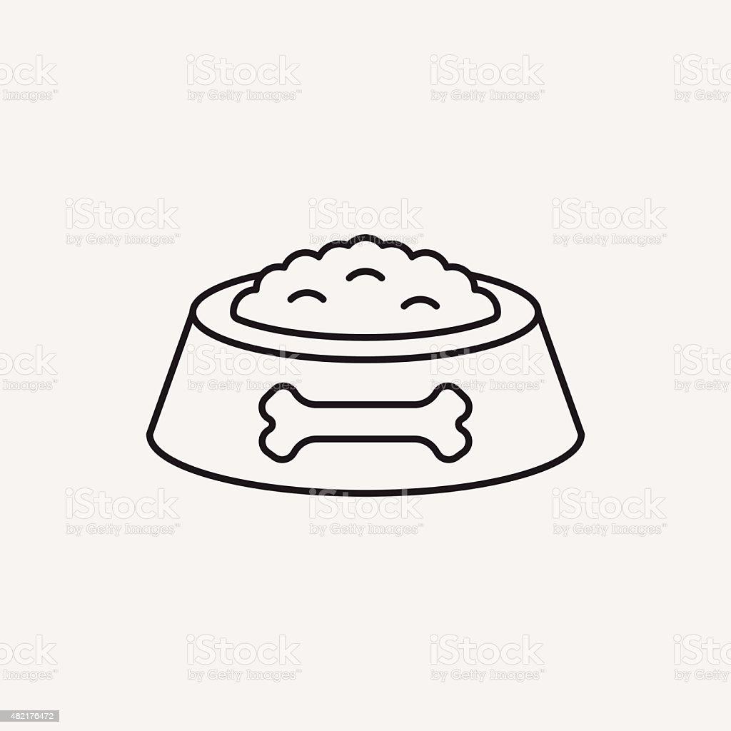 Royalty Free Pet Food Bowl Clip Art Vector Images Illustrations