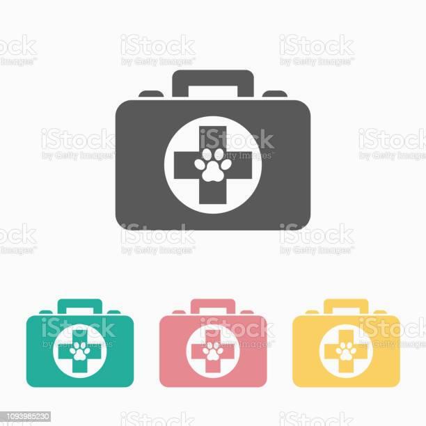 Pet first aid kit icon vector id1093985230?b=1&k=6&m=1093985230&s=612x612&h=lsutfcpdoalbzjpgsirr86t29vxyzqyrdczixr61g54=