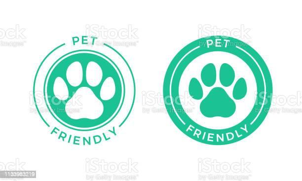 Pet friendly logo icon for pets allowed hotel sign vector id1133983219?b=1&k=6&m=1133983219&s=612x612&h=uojqojoqfirr4jjtdtv9saciv cb2qzyf0r7prequuc=