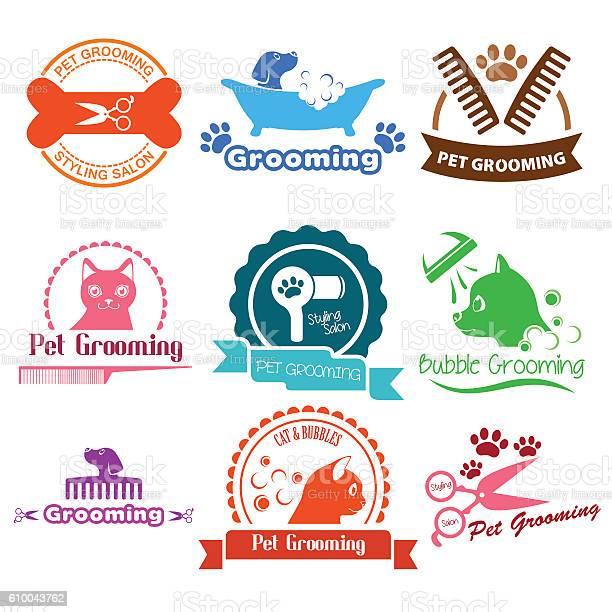 Pet grooming service business logos vector id610043762?b=1&k=6&m=610043762&s=612x612&h= e tyrk kaif7fwdwknyxyqxcqpuhkvazpwcd8nqquu=