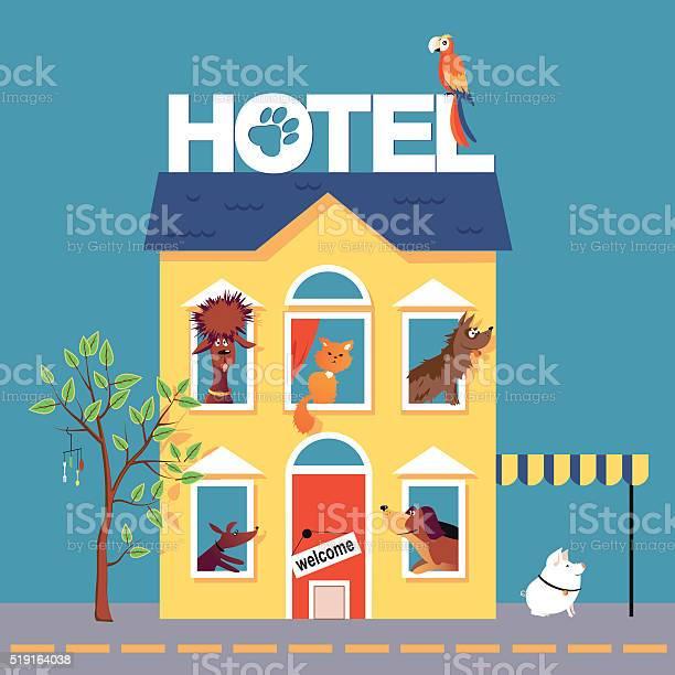 Pet hotel vector id519164038?b=1&k=6&m=519164038&s=612x612&h=yyf1rjwypfslrsb1ro1spe9vmneyacjvcscaude4fk8=