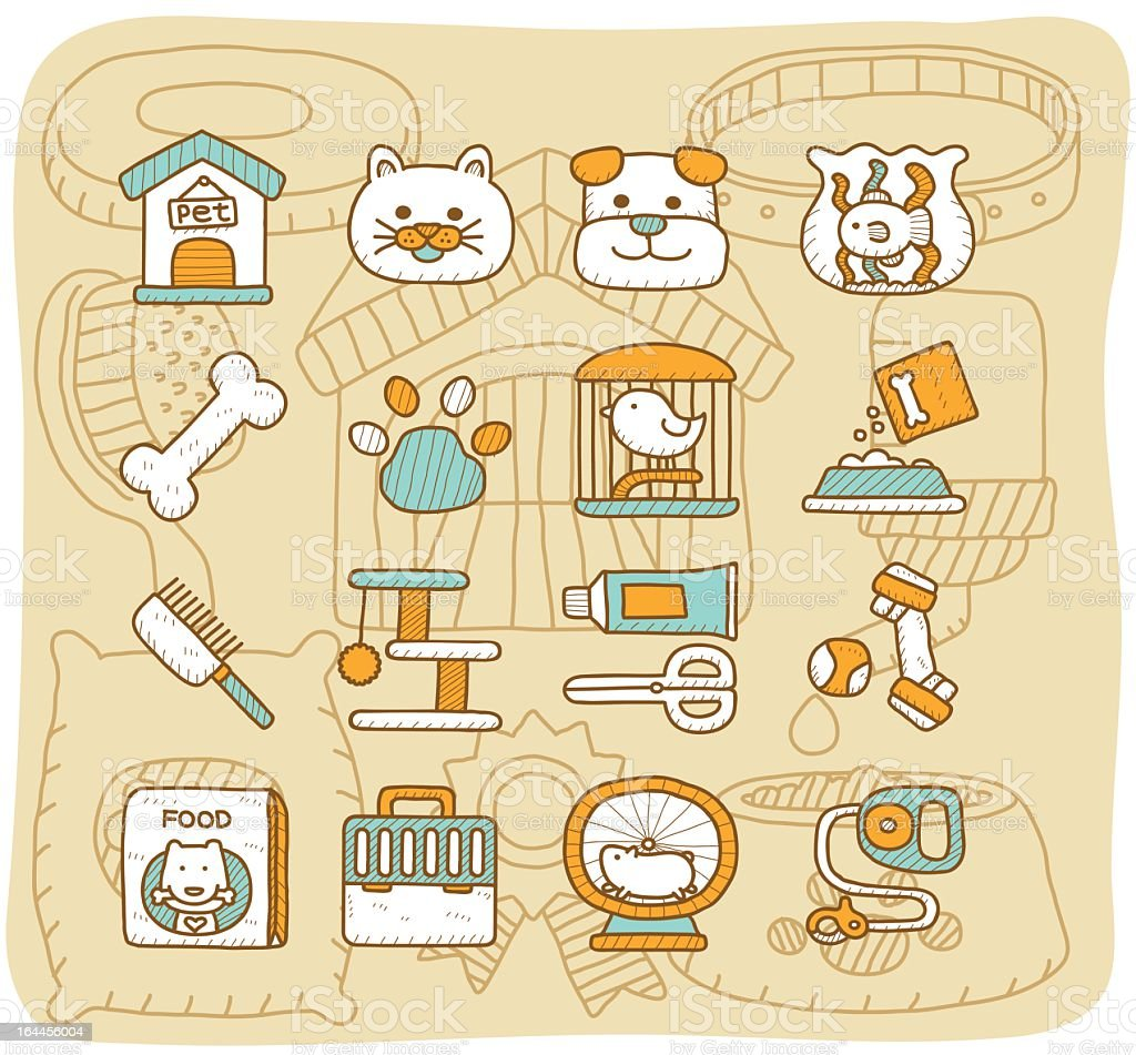 Pet icon | Mocha Series royalty-free stock vector art