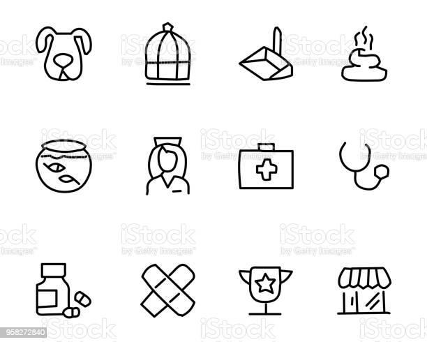 Pet icon set design illustration hand drawn style design vector id958272840?b=1&k=6&m=958272840&s=612x612&h=lwewjgwygnh0hbs xjfmifd30jwjnevwqctafwthjs4=