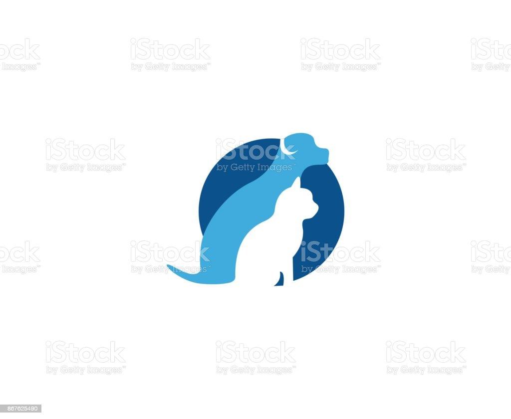 Icono del animal doméstico - ilustración de arte vectorial