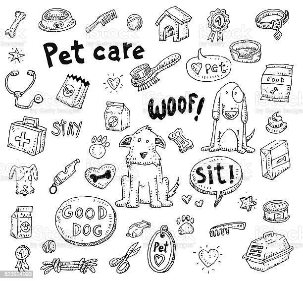 Pet icons doodle set vector illustration vector id523924093?b=1&k=6&m=523924093&s=612x612&h= ftqcobtyz0l4kscngdhu9rraeibma6fzekwkk8r va=