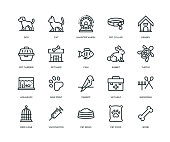 Pet Icons - Line Series