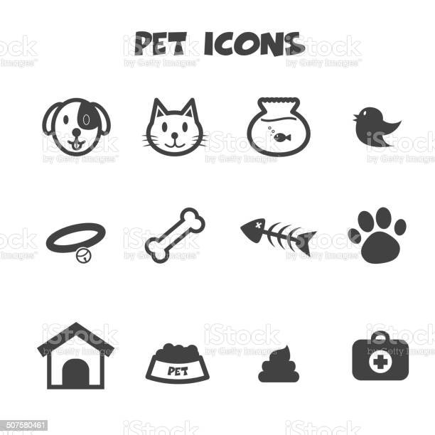 Pet icons vector id507580461?b=1&k=6&m=507580461&s=612x612&h=nz1tg3abkel5vazobzvshuxzew ysm5ozh1h4e18mlw=