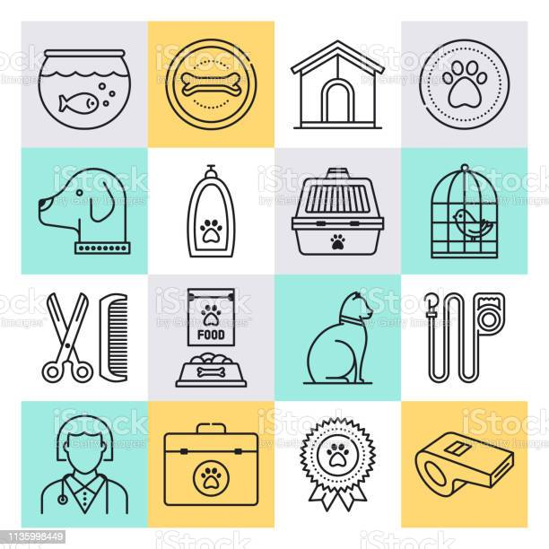 Pet ownership social support outline style vector icon set vector id1135998449?b=1&k=6&m=1135998449&s=612x612&h=znldobadiui1rzxoxbab4yf66ugm44wnwynjgeingfa=