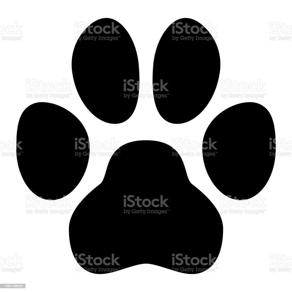 ペットの足の記号単純な黒犬や猫の足跡形 つま先のベクターアート素材や画像を多数ご用意 Istock