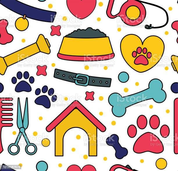 Pet seamless patterns backgrounds for pet shop websites and prints vector id1014182578?b=1&k=6&m=1014182578&s=612x612&h=htjfg9c02wpc2lswarjr4 ilh22p8xpzx pvcfhpwf4=