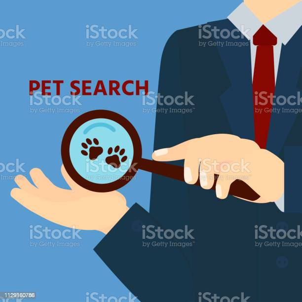 Pet search find logo icon magnifier with paws pets design template vector id1129160786?b=1&k=6&m=1129160786&s=612x612&h=xjjowcd7phfkj5xjnk7h hz6jqde7sllcge8yffjmz4=