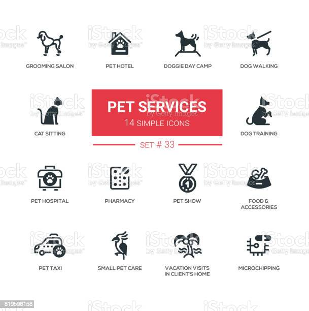 Pet services modern simple thin line design icons pictograms set vector id819596158?b=1&k=6&m=819596158&s=612x612&h=a9muxbk53 oojfgtvwnu2rjhdsfaune16wbsgugip6g=