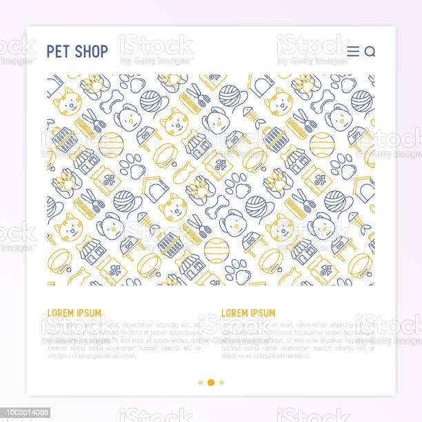 Pet shop concept with thin line icons cat dog collar kennel grooming vector id1003014088?b=1&k=6&m=1003014088&s=612x612&h=ca qon nvxskqfzdvdkcpq1qtzd9titiosb5zgp2dms=