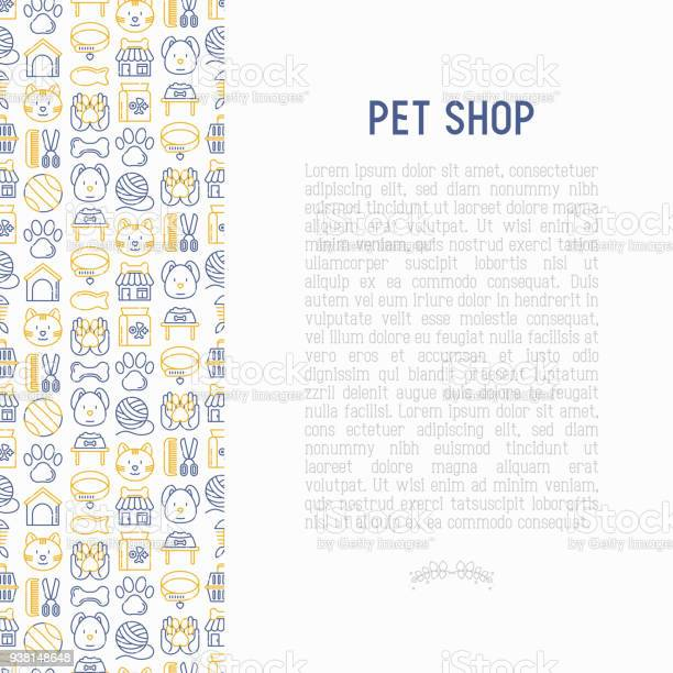Pet shop concept with thin line icons cat dog collar kennel grooming vector id938148648?b=1&k=6&m=938148648&s=612x612&h=opajupz1bclc0xyx eda7fiov7obhwy 9vtrs8aqpzk=