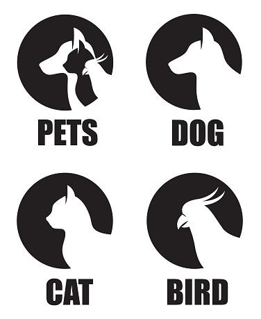 pet shop label set