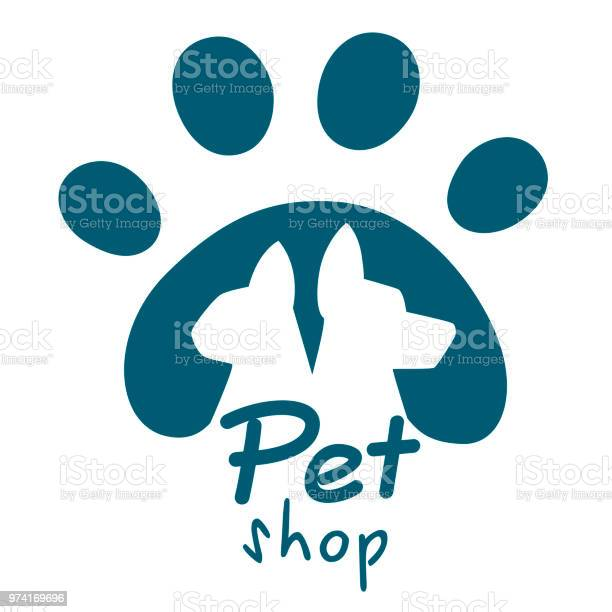Pet shop logo dog and cat icon vector logo emblem label design for vector id974169696?b=1&k=6&m=974169696&s=612x612&h=rrtnga2c bdw3qpltpkdhrccsygedirixjpbbwer8vo=