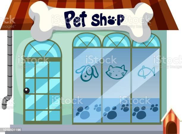 Pet shop on white background vector id1010501196?b=1&k=6&m=1010501196&s=612x612&h=uxsylzmltw7xnfwen9bkftae0jryskvyedel51jein4=