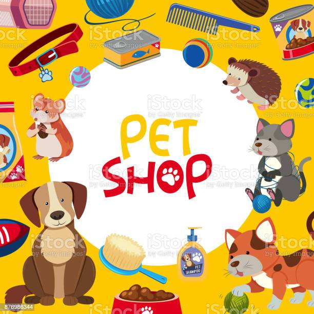 Pet shop poster design with many pets and accessories vector id876986344?b=1&k=6&m=876986344&s=612x612&h=3xqqfzpos79r4jnwcqvbvc5 ym69mcdkklhrhwu5xue=