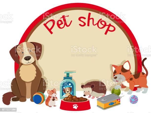 Pet shop sign template with many pets vector id877227086?b=1&k=6&m=877227086&s=612x612&h=zaildk7odsgg7vcut1h hkrxjjqap18vrcrggnznlr4=