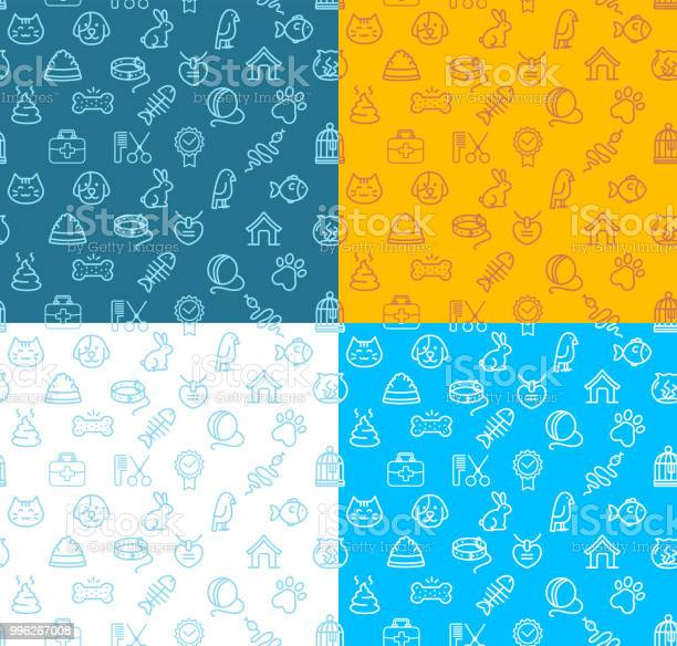 Pet shop signs seamless pattern background set vector vector id996267008?b=1&k=6&m=996267008&s=612x612&h=jlcihfbom9seovtt79ibnqxommehutmdlmpfq5j opm=