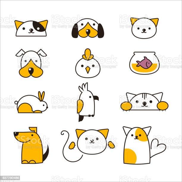 Pet shop symbols vector vector id637290486?b=1&k=6&m=637290486&s=612x612&h=vhcxp urhnabvigqgqt18yrte6xultbaxryaz5or eq=
