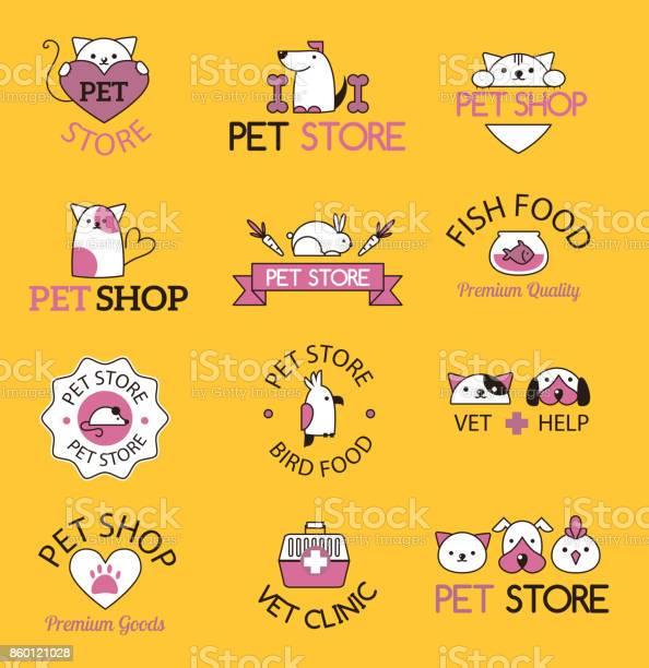 Pet shop symbols vector vector id860121028?b=1&k=6&m=860121028&s=612x612&h=wi2mxpfagdurwid3ujsrgp41hfrnsozchepnjfnzwb4=