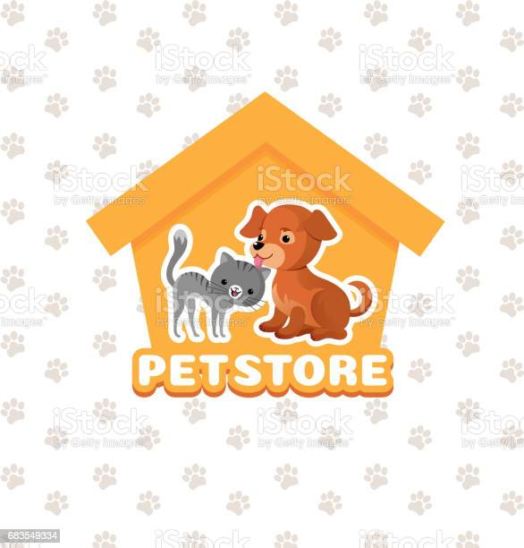 Pet store vector background with happy pets animals vector id683549334?b=1&k=6&m=683549334&s=612x612&h=ew1ffvmstdwrsrrqddbwkntycj5sfeapplv35h lam8=