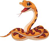 Petite funny snake