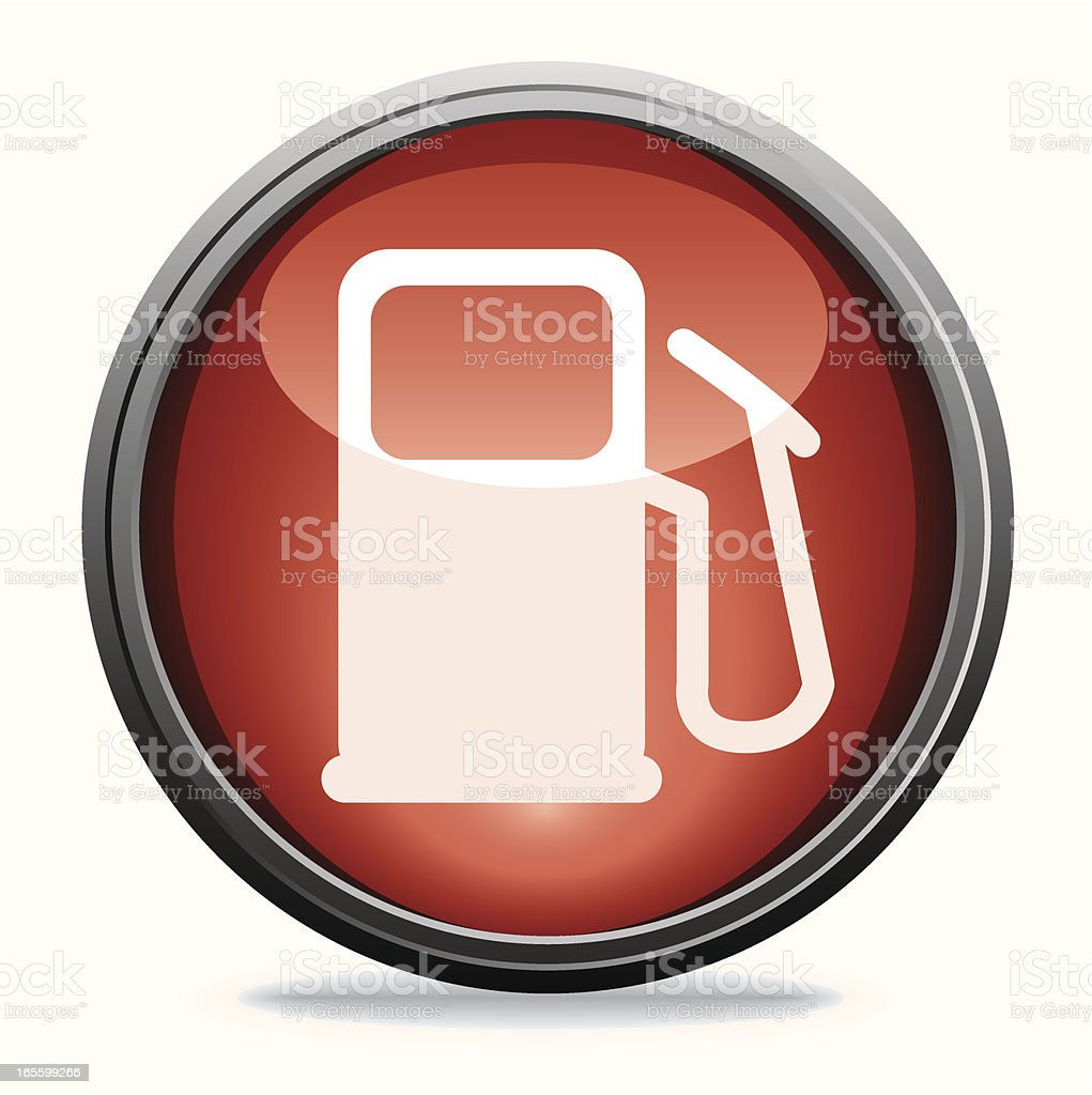 Petrol Gauge | Glass Collection royalty-free stock vector art