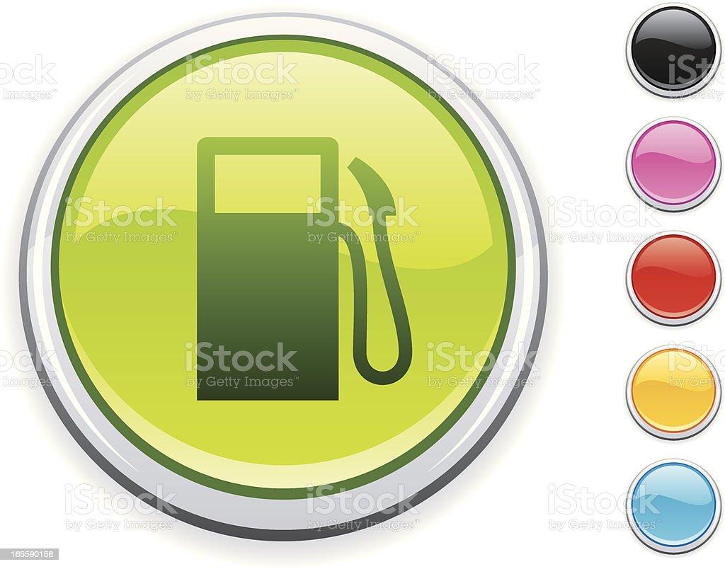 Petrol icon royalty-free stock vector art