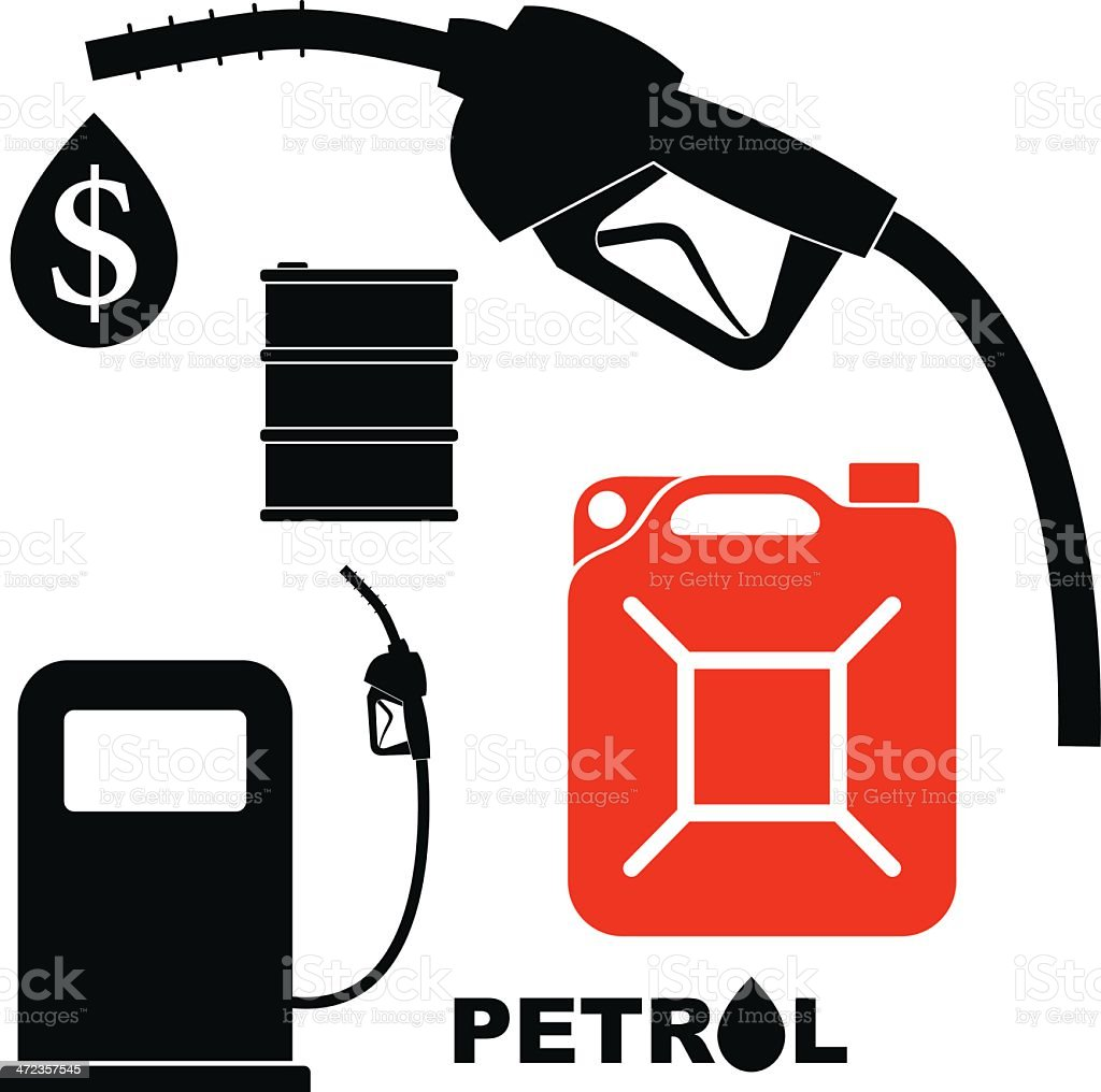 Benzin – Vektorgrafik