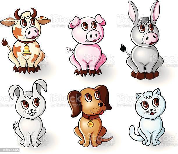 Pets and farm animals vector id165609065?b=1&k=6&m=165609065&s=612x612&h=mhvzl og9qxjwajytrxeav624fyncslvrqvykjpy8w8=