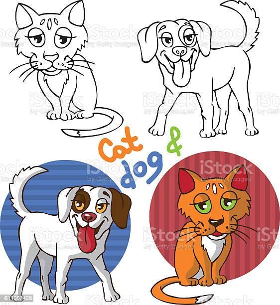 Pets cat and dog vector id611067428?b=1&k=6&m=611067428&s=612x612&h=4jy62atdaej6cer6fzrq7n5twuwstloxlv7klr2lc1i=