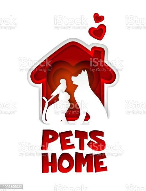 Pets home logo vector paper cut design template vector id1025855022?b=1&k=6&m=1025855022&s=612x612&h=7x6y pcp4foryjfdmrmvjb63nc8xs wvjk3gutbtinq=