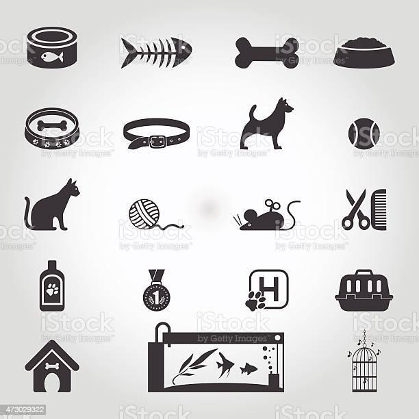 Pets icon set vector id473029322?b=1&k=6&m=473029322&s=612x612&h=kwfugf9tltrahl2xcvtelyv9emp0jjxeddnbgdff48k=