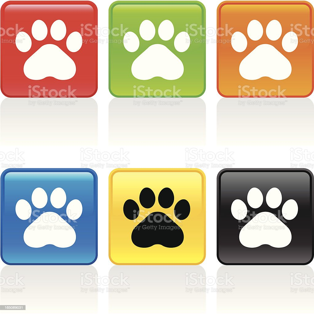 Pets Icon royalty-free stock vector art