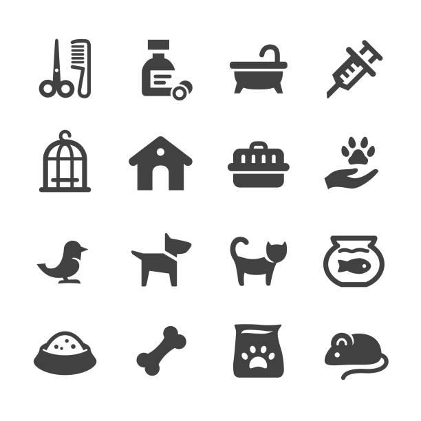 Pets Icons - Acme Series vector art illustration