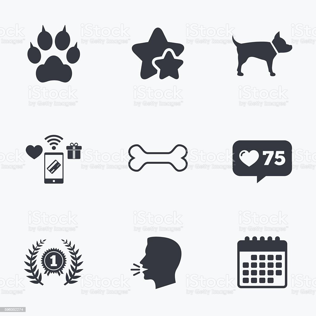 Pets icons. Cat paw with clutches sign. royalty-free pets icons cat paw with clutches sign stock vector art & more images of achievement