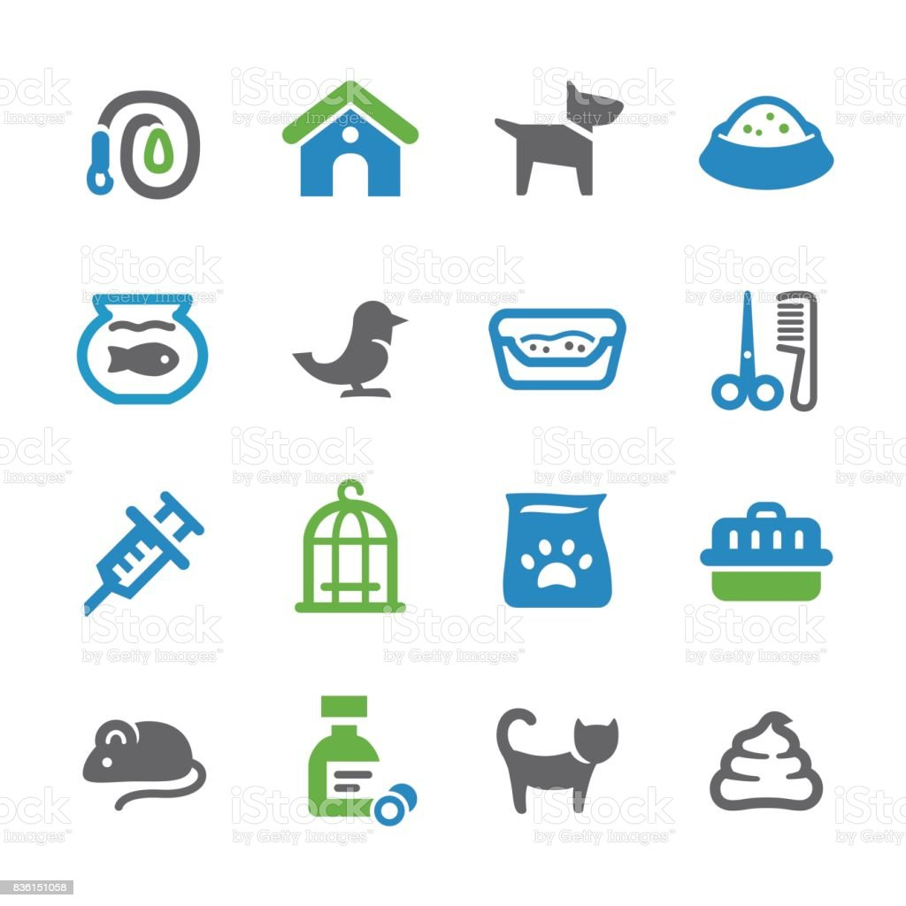 Pets Icons - Spry Series