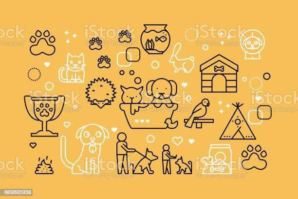 Pets line icons illustration vector id669865936?b=1&k=6&m=669865936&s=612x612&h=ujimqbgkmw9symrukhiyoczxnsghvqzkiovvcokyv3e=